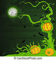 Halloween Pumpkin Tree