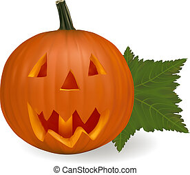 Halloween pumpkin vegetable