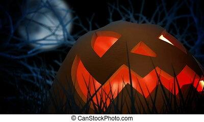 halloween, pumpkin.