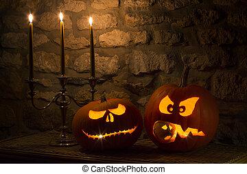 Halloween Pumpkins - Jack O Lantern