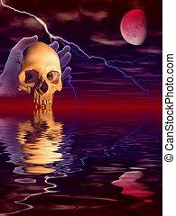 halloween, reflexion