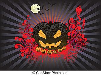 halloween, retro