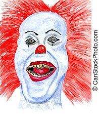 Halloween Scary Clown