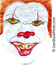 Halloween Scary Clown