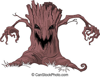 Scary tree  - Halloween Scary tree