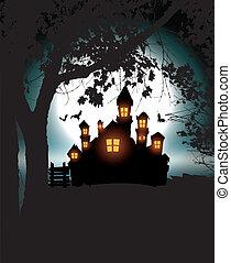 halloween, scenario