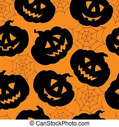 Halloween seamless background 1