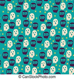 Halloween seamless patterns.