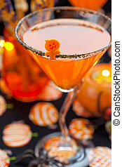 Halloween snack and drinks - Halloween drinks and snack