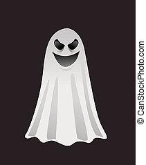 halloween, spöke
