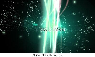 Halloween spirit background