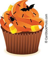 halloween, stampa, cupcake
