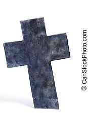 Halloween stone cross