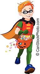Halloween Super Boy
