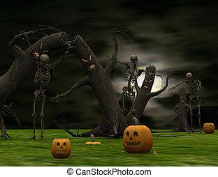 Halloween surreal.
