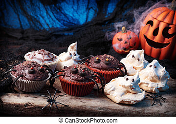 Halloween sweets for Halloween party