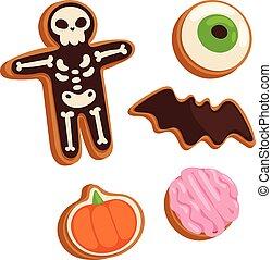 Halloween symbol vector.