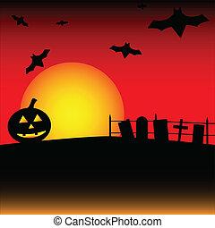 halloween szene