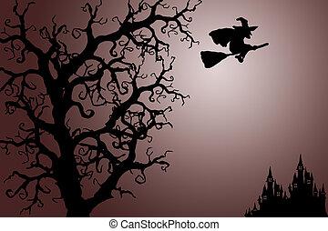 halloween, tło