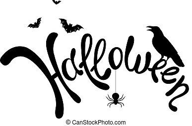 Halloween Text