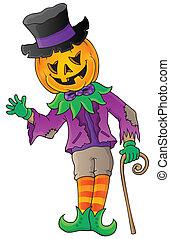Halloween theme figure image 1