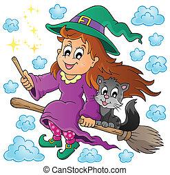 Halloween theme image 1 - eps10 vector illustration.