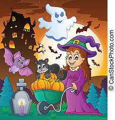 Halloween theme image 3