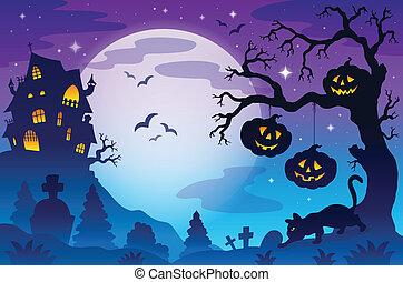 Halloween theme image 9