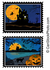 halloween, timbres
