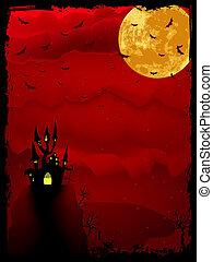 Halloween time spooky. EPS 8