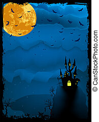 Halloween time spooky illustration. EPS 8 - Halloween time...