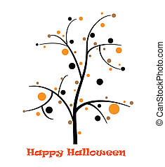 Halloween Tree Card