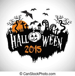 Halloween vector design