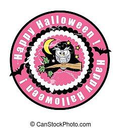 Halloween Vector Graphic Background