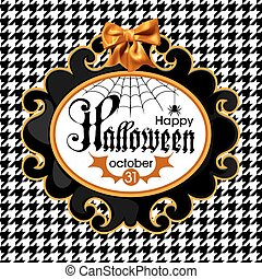 Halloween vector Illustration isolated on white