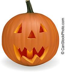 halloween, vegetables., zucca