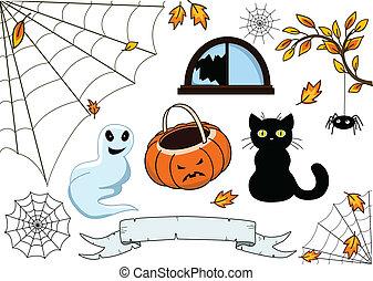 halloween, verzameling