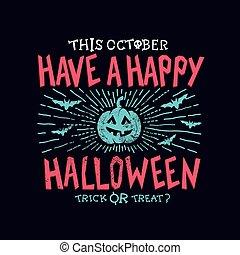 halloween, vrolijke