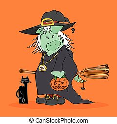 Halloween Witch.
