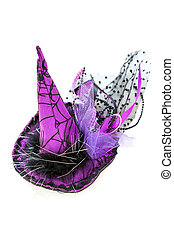 Halloween, witch hat. - Flirtatious witch hat for Halloween...