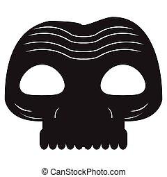 Halloween zombie mask