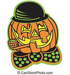 halloween zucca, cricco lanterna