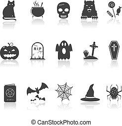 Hallowen Icons Set