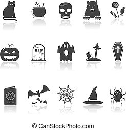 Hallowen Icons Set