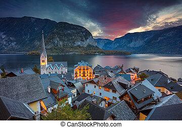 Hallstatt, Austria.