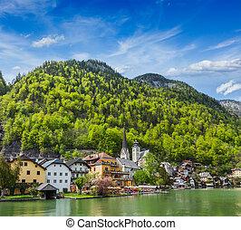 Hallstatt village, Austria