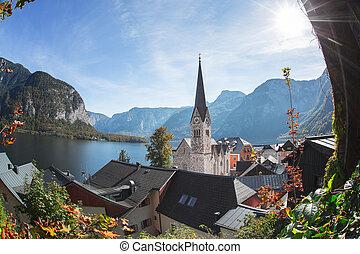 Hallstatt - Village In Austrian Alps