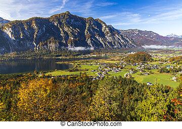 Hallstatter see in Upper Austria, Austria