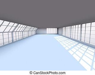 hallway, architectuur