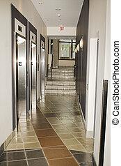 hallway deserted